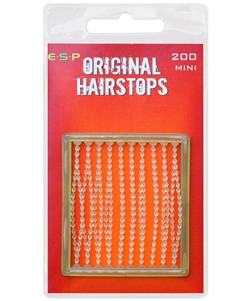 Стопора для бойлов ESP Hair Stops Mini  4.7mm -  Clear (прозрачный)
